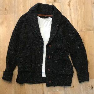 BDG Black Speckled Cardigan